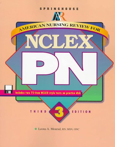 9780874349245: American Nursing Review for NCLEX-PN (Book with Diskette)