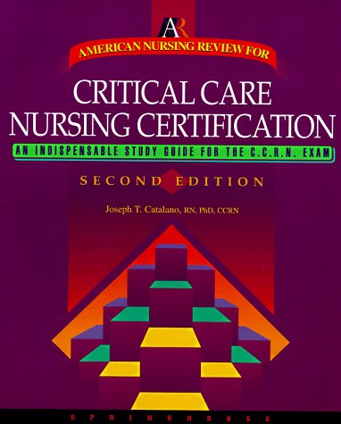 9780874349283: American Nursing Review for Critical Care Nursing Certification