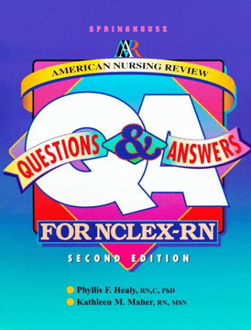 9780874349832: American Nursing Review: Questions and Answers for Nclex-Rn (Springhouse Nursing Review Series)