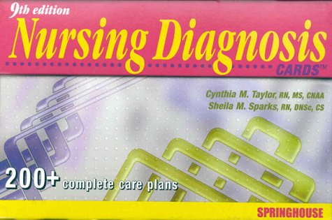 9780874349993: Nursing Diagnosis Cards with Cards