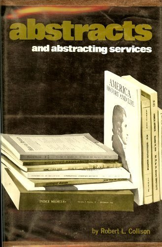 Abstracts and Abstracting Services: Collison, Robert