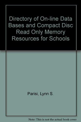 9780874365153: Directory of Online Databases and Cd-Rom Resources for High Schools