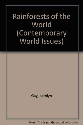 9780874367126: Rainforests of the World: A Reference Handbook (Contemporary World Issues)
