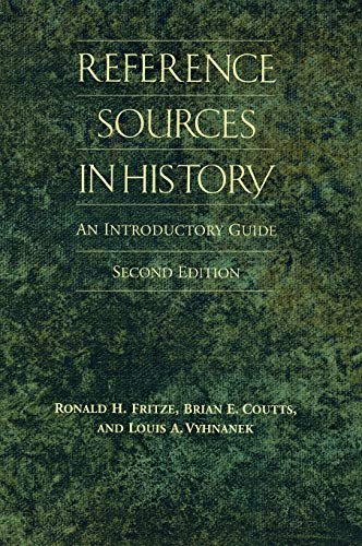 9780874368833: Reference Sources in History: An Introductory Guide, 2nd Edition (Non-Series)