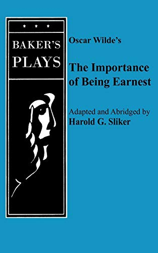 9780874408423: Importance of Being Earnest, the (One-Act)