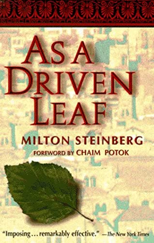 9780874410747: As a Driven Leaf