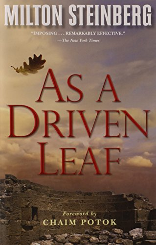 9780874411034: As a Driven Leaf