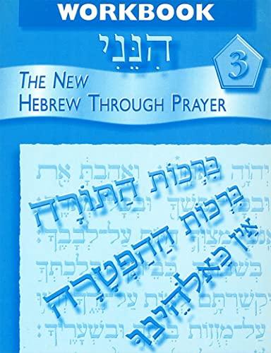 9780874411386: Hineni 3 - Workbook (Hebrew Edition)