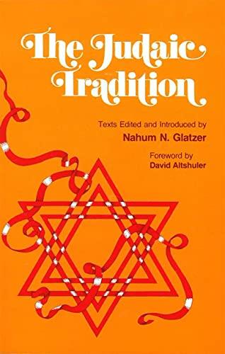 9780874413441: The Judaic Tradition