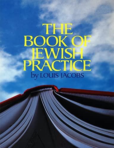 9780874414608: The Book of Jewish Practice