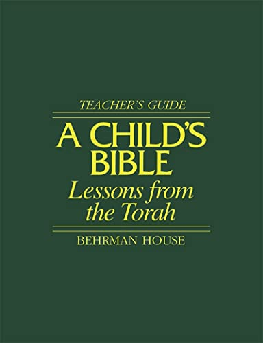 9780874414677: A Child's Bible Book 1: Lessons from the Torah
