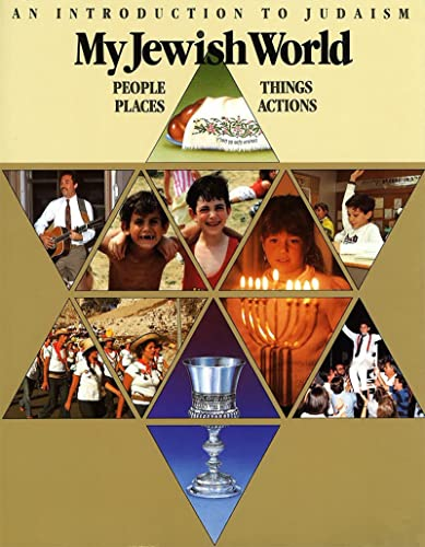 9780874414783: My Jewish World: People Places Things Actions