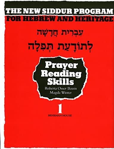 Book One, Prayer Reading Skills Workbook: For: Pearl Tarnor, Norman