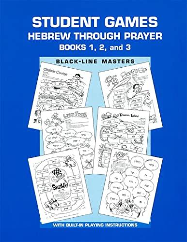 Hebrew Through Prayer - Game Book: Behrman House