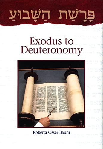 9780874416817: Parashat Ha-shavu'a: From Exodus to Deuteronomy (English and Hebrew Edition)