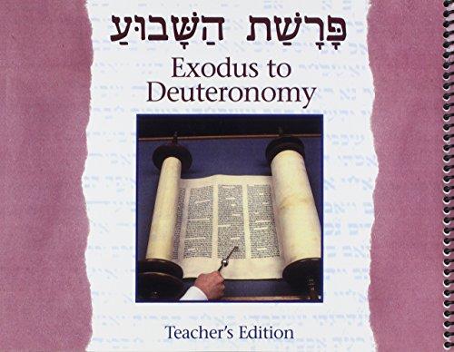 Parashat Hashavua: From Exodus to Deuteronomy teacher's edition (9780874416831) by Roberta Osser Baum