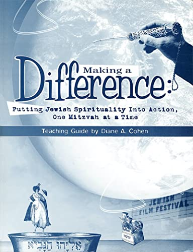 9780874417135: Making a difference: Putting Jewish spirituality into action, one mitzvah at a time