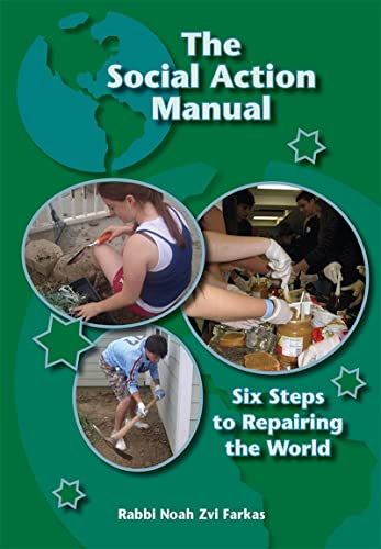 9780874417739: The Social Action Manual: Six Steps to Repairing the World