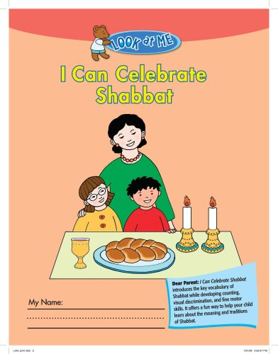 9780874418088: Look at Me: I Can Celebrate Shabbat (Look at Me (Behrman House))
