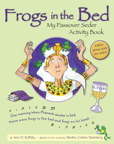 9780874419139: Frogs in the Bed: My Passover Seder Activity Book