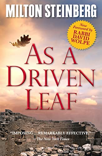 9780874419504: As a Driven Leaf: With a New Foreword by David Wolpe