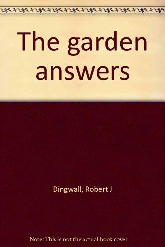 9780874450019: The garden answers