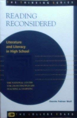 9780874475388: Reading Reconsidered: Literature and Literacy in High School