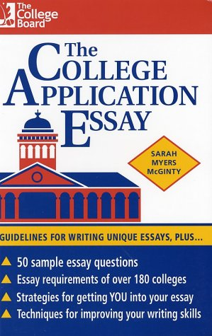 9780874475753: The College Application Essay