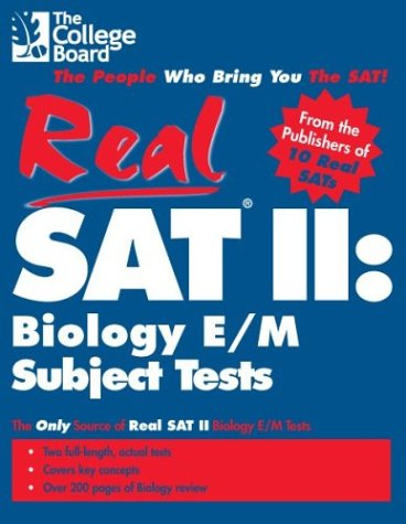 9780874476934: Real SAT II: Biology E/M Subject Tests