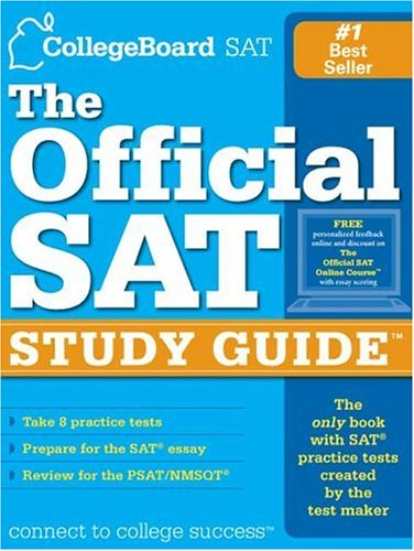 9780874477184: The Official SAT Study Guide: For the New SAT (tm) (Real Sats)