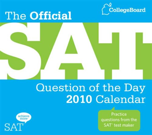 9780874478518: The Official SAT Question of the Day 2010