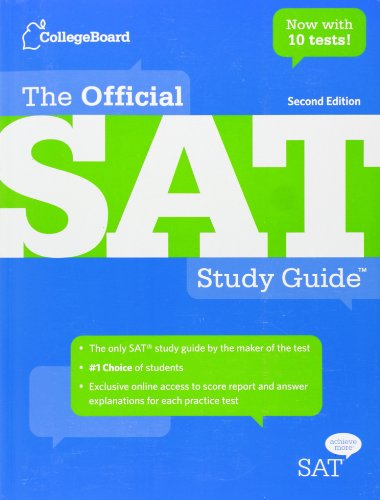 9780874478525: The Official SAT Study Guide Second Edition