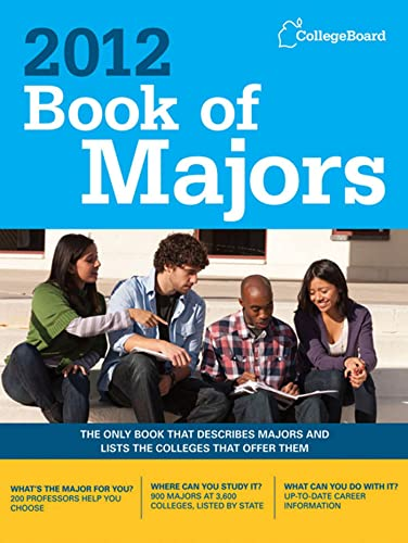 9780874479683: Book of Majors 2012 (College Board Book of Majors)