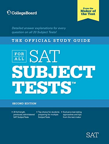 9780874479751: Official Study Guide for All SAT Subject Tests (Real Sats)