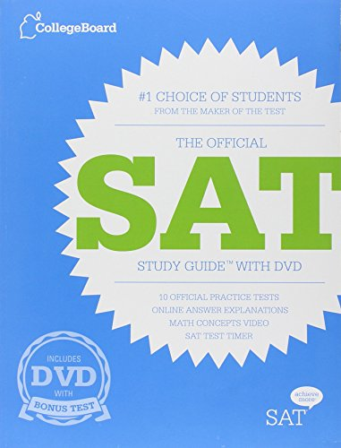 9780874479799: The Official SAT Study Guide with DVD