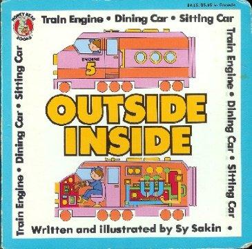 9780874494570: Outside Inside- Train Engine, Dining Car, Sitting Car