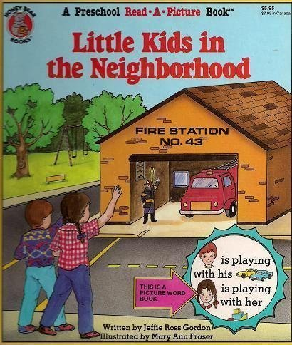 9780874496789: Little Kids in the Neighborhood (Rebus Readers Series)