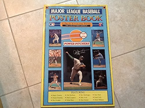9780874498974: Major League Baseball Poster Books: Power Pitchers