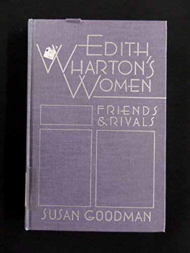 9780874515213: Edith Wharton's Women: Friends and Rivals