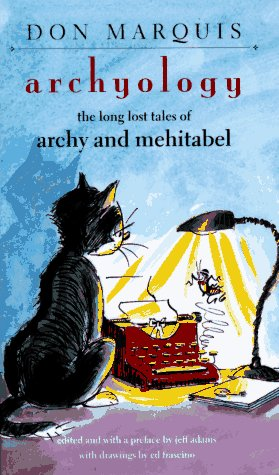 9780874517453: Archyology : The Long Lost Tales of Archy and Mehitabel