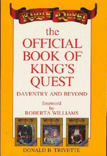 9780874551556: Official Book of King's Quest: Daventry and Beyond