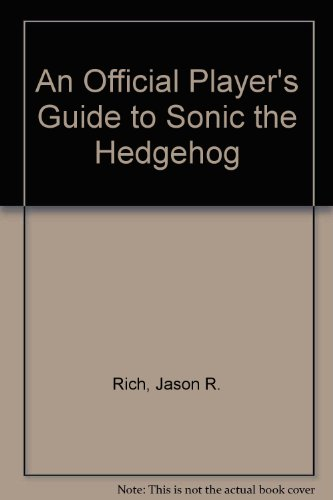 9780874552997: An Official Player's Guide to Sonic the Hedgehog