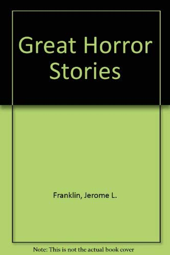9780874601893: Great Horror Stories