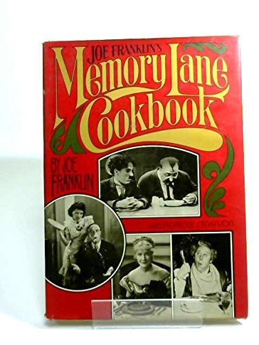 9780874602425: Joe Franklin's Memory Lane cookbook,
