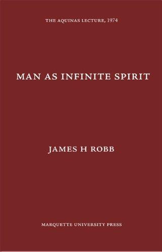 9780874621396: Man As Infinite Spirit, (Aquinas Lecture 39)