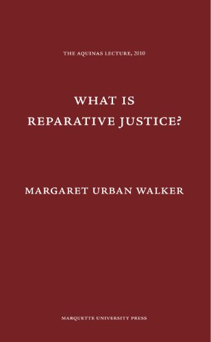 9780874621778: What is Reparative Justice? (Aquinas Lecture)