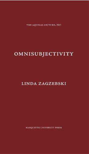 9780874621839: Omnisubjectivity: A Defense of a Divine Attribute (Aquinas Lecture 2013)
