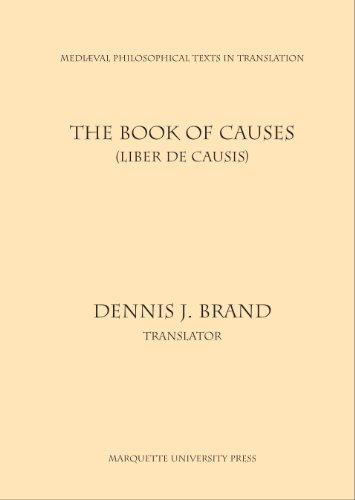 9780874622256: Book of Causes: Liber De Causis