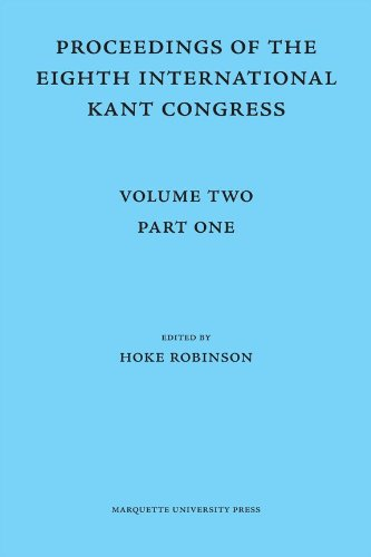 9780874624779: 2: Proceedings of the Eighth International Kant Congress
