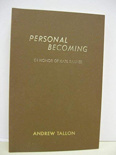 9780874625226: Personal Becoming
